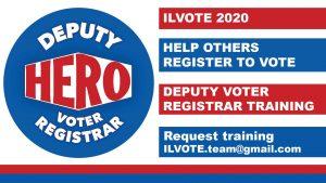 ILVOTE 2020 - Voter Registration Training