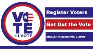 ILVOTE: Register Voters. Get Out The Vote.