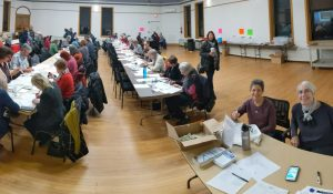Indivisible Evanston - Postcard Party